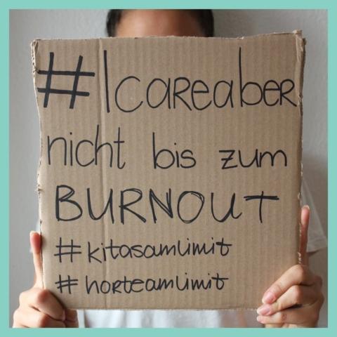 #icareaber nicht bis zum burnout