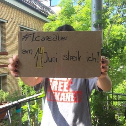 #icareaber am 14. Juni streik ich!